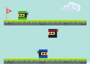 Kare Ninja Oyunu mobil