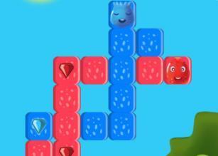 Mavi Kirmizi Elmaslar Oyunu mobil